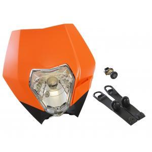 Off-Road Headlight Complete Orange KTM  30-701HL