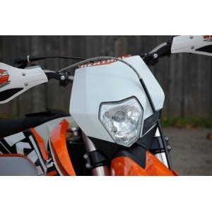 Off-Road Headlight Complete White KTM  30-701HL-WHT