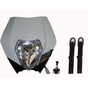 Off-Road Headlight Complete White KTM  30-701HL-WHT