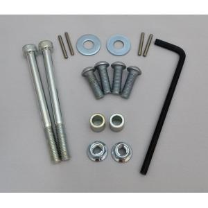 Flexx Debris Deflector Replacement Mounting Hardware Kit 50-5140HK