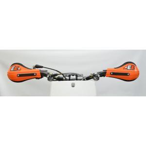 EVO2 Orange Plastic outer mount Roost Deflectors 51-225