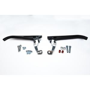 Husqvarna (Magura clutch and brake) Aluminum Open Ended Moto Roost Deflector Mounting Kit 53-2020