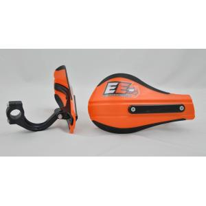 Composite Moto Roost Deflectors Orange with Mounting Kit 53-225