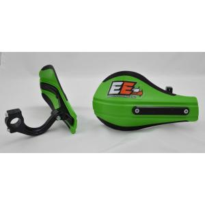 Composite Moto Roost Deflectors Green with Mounting Kit 53-229