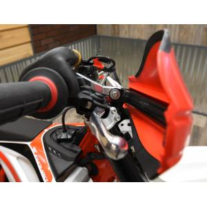 Beta Aluminum Open Ended Moto Roost Deflector Mounting Kit 53-4020