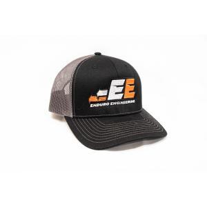 Enduro Engineering Trucker Hat Black/ Charcoal BKSB-101