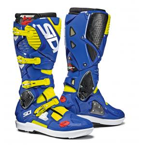 Sidi Flo Yellow/ Blue Crossfire 3SR Boot Size 10/44 SID-C3S-FYBL-44