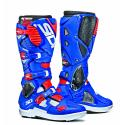 Sidi Crossfire 3SR White/ Blue/ Flo Red
