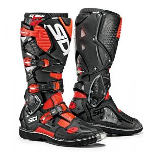 Sidi Red Flo/ Black Crossfire 3TA Boot Size 10/44 SID-C3T-FRBK-44