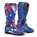 Sidi Crossfire 3TA White/ Blue/ Flo Red