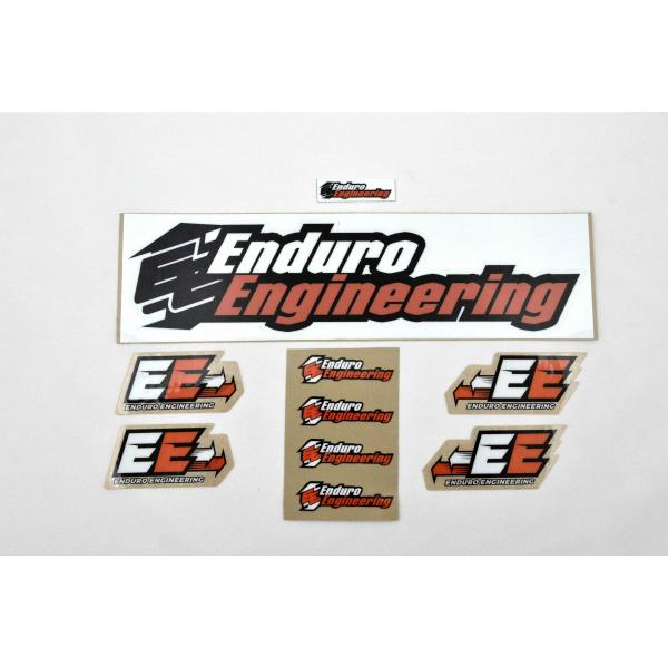 Enduro Engineering Decal kit includes  DECAL-KIT